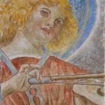 Angelo musicante da Melozzo da Forlì 50x25