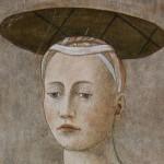 da Piero della Francesca Madonna del parto Particolare