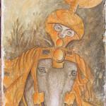 Cavaliere da Pisanello 50x25