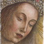 Vergine Maria da Van Eych