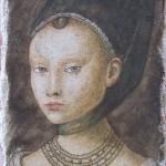 dama da P.Cristus 50x25