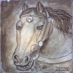 Cavallo da Pisanello 25x25