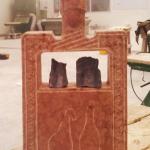 Stele - marmo rosso di Verona H70 cm 2014