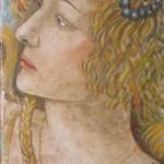 La grazia da Botticelli 50x25