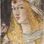 Lucrezia Borgia da B.Veneziano 50x25