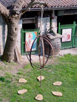 Universo Cerchi di botte, legno e corda